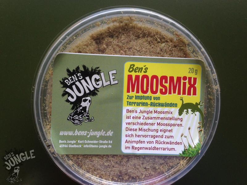Geliebte Ben´s Jungle Moosmix 20g (Moossporen), 8,50 € #DK_84